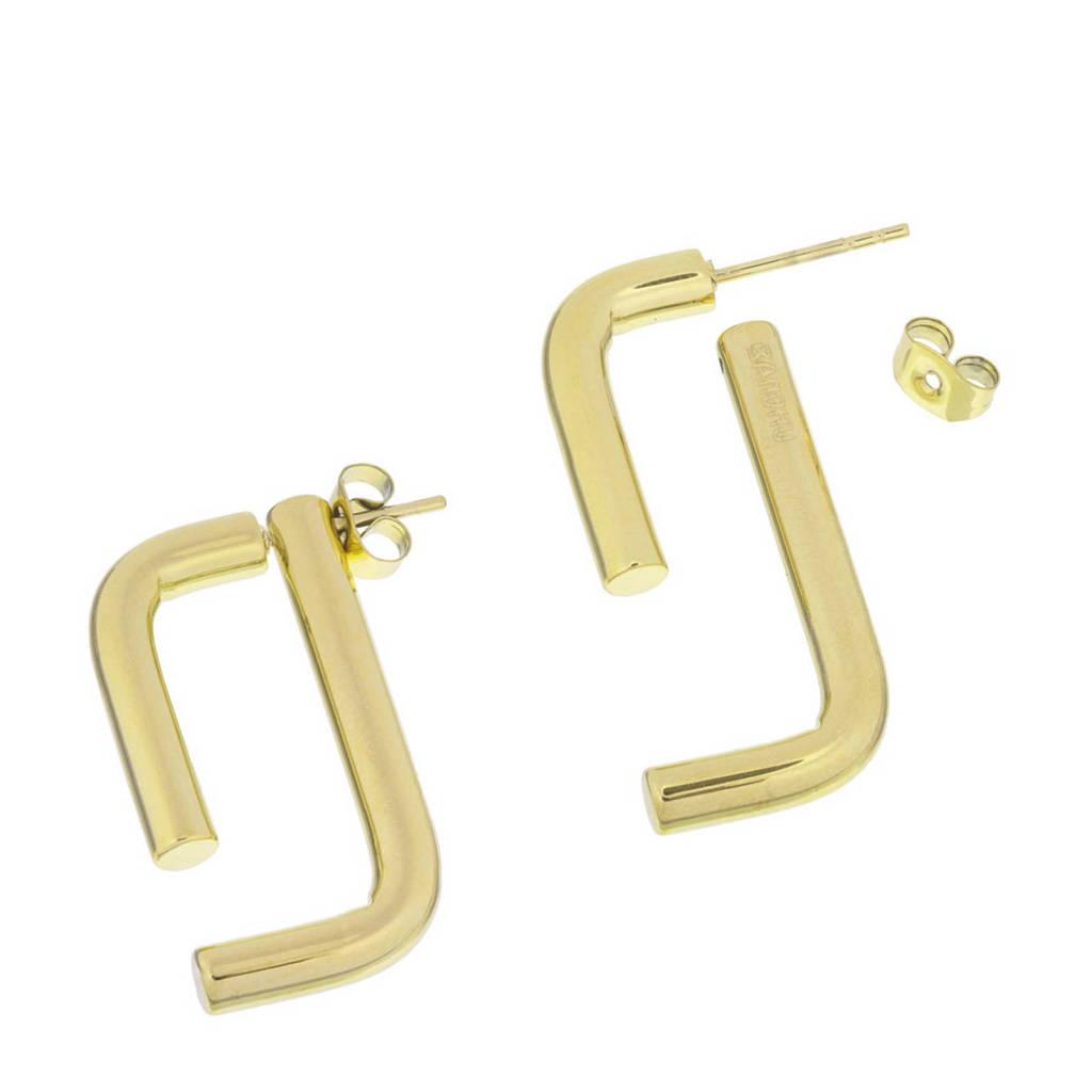 Bandhu oorbellen Linked goudkleurig, Goudkleurig