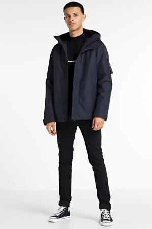 parka winterjas Barnard donkerblauw