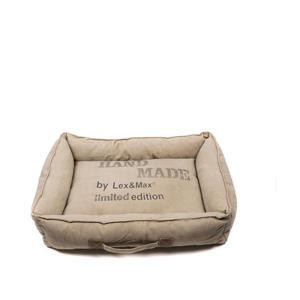 Handmade - Hondenmand - 60x45x15cm - Zand