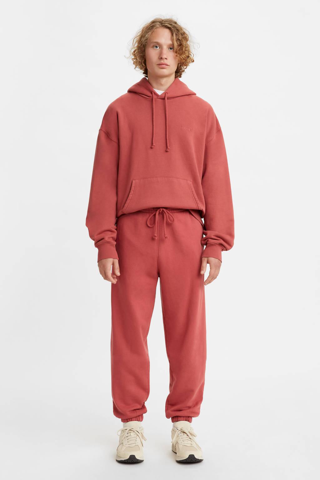 Levi's RED TAB  regular fit joggingbroek marsala garment dye, Marsala Garment Dye