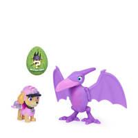 Paw Patrol  Dino Rescue Skye and Dinosaur Action set, Multi kleuren
