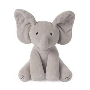 geanimeerde Flappy de olifant 30 cm interactieve knuffel