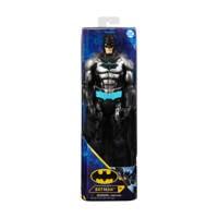 Batman Bat-Tech-actiefiguur 30 cm (zwart-blauwe outfit), Multi kleuren