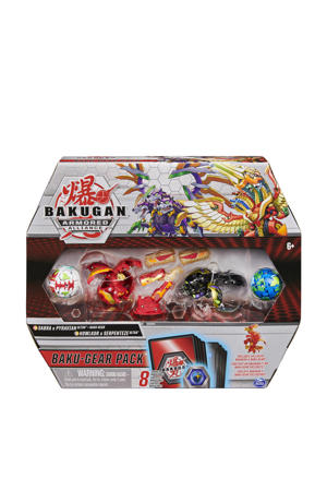 Starter 4 Pack Fused Sabra x Pyravian Ultra met Baku-Gear en Howlkor x Serpenteze Ultra