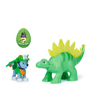 Dino Rescue Rocky and Dinosaur Action set