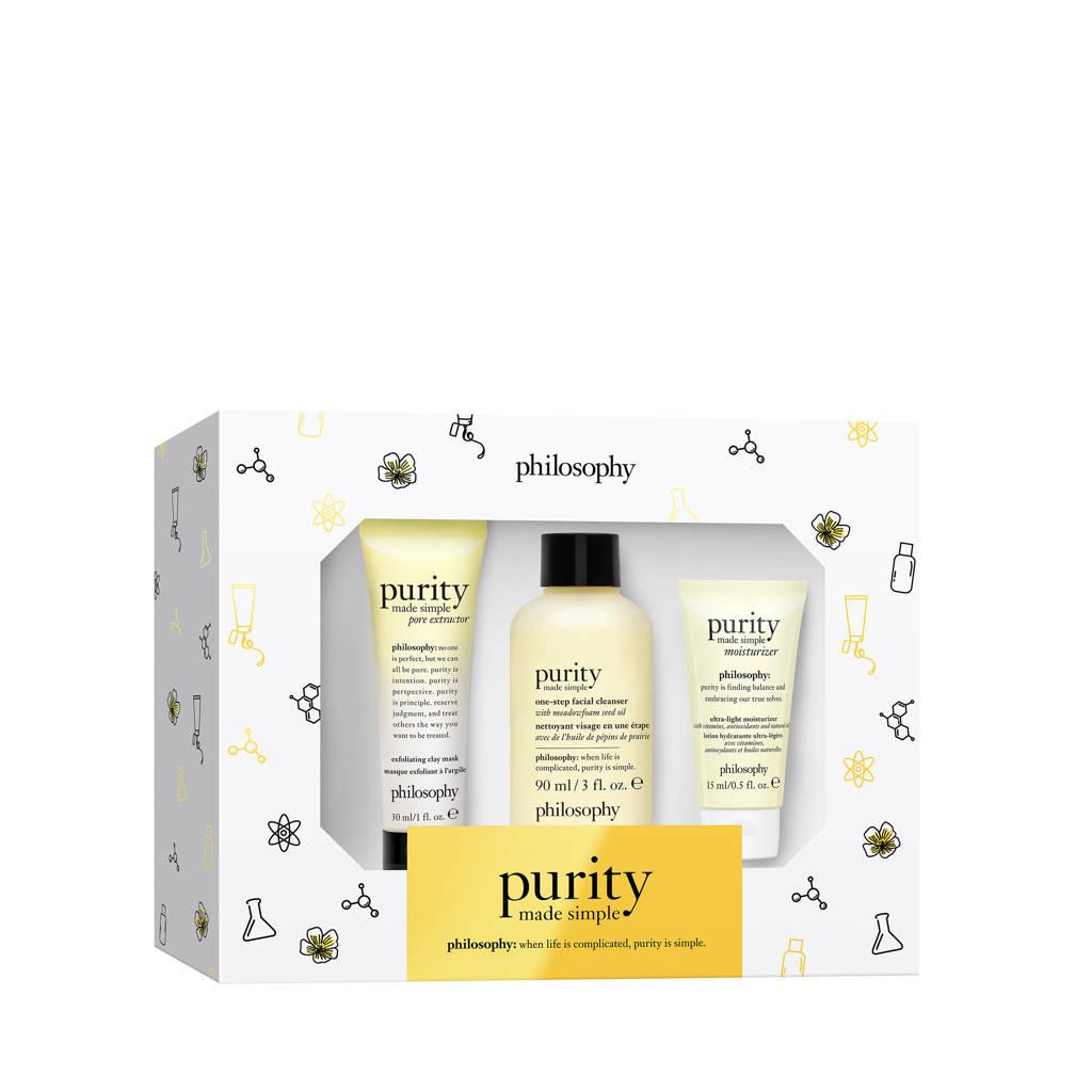 philosophy purity moisturizing gezichtsverzorging geschenkset