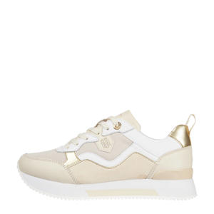 Material Mix Active City  sneakers beige/wit/goud
