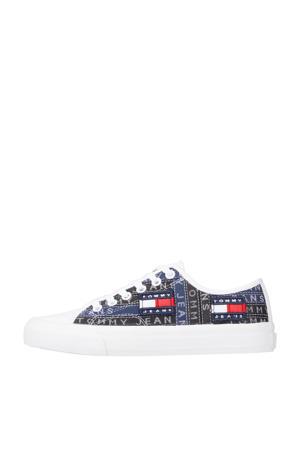 Premium Label  sneakers zwart/blauw/wit
