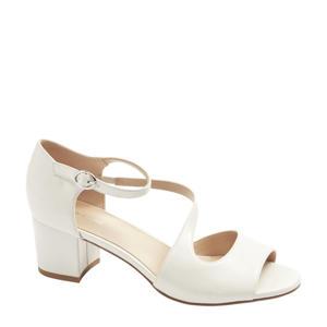 sandalettes wit