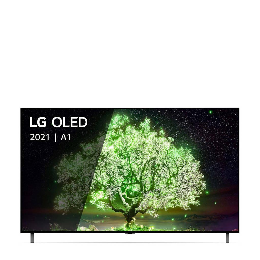 LG OLED77A16LA televisie, Zwart