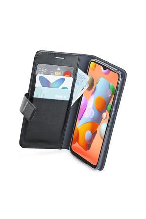Samsung Galaxy A12 Wallet case telefoonhoesje (Zwart)