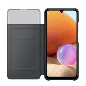 Galaxy A32 4G S- Galaxy A32 4G S-View Wallet Cover telefoonhoesje (Zwart)