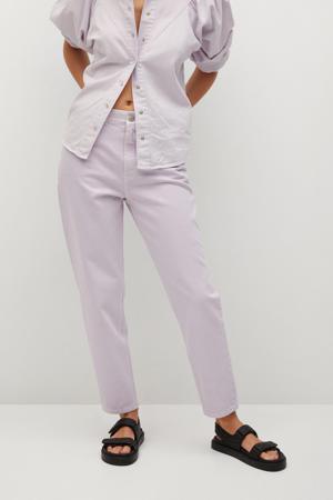 high waist mom jeans lila