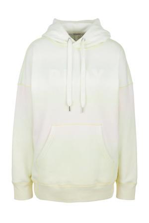 hoodie lichtgeel/multi