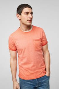 Q/S designed by slim fit T-shirt rood, Rood