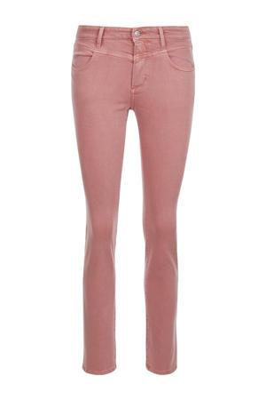 slim fit jeans lichtroze