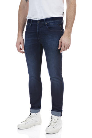 slim fit jeans X.L.I.T.E Anbass 9 oz indigo
