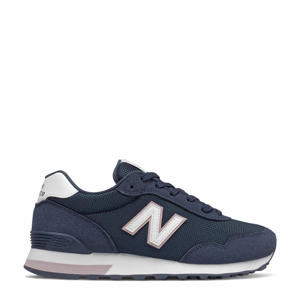 515  sneakers donkerblauw/wit