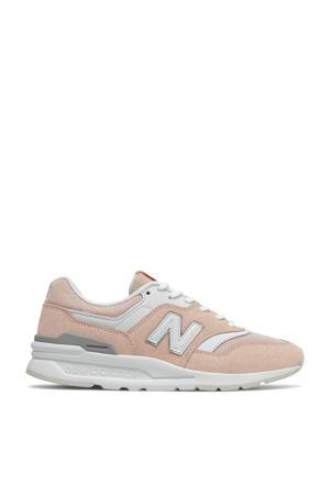 997  sneakers lichtroze/wit