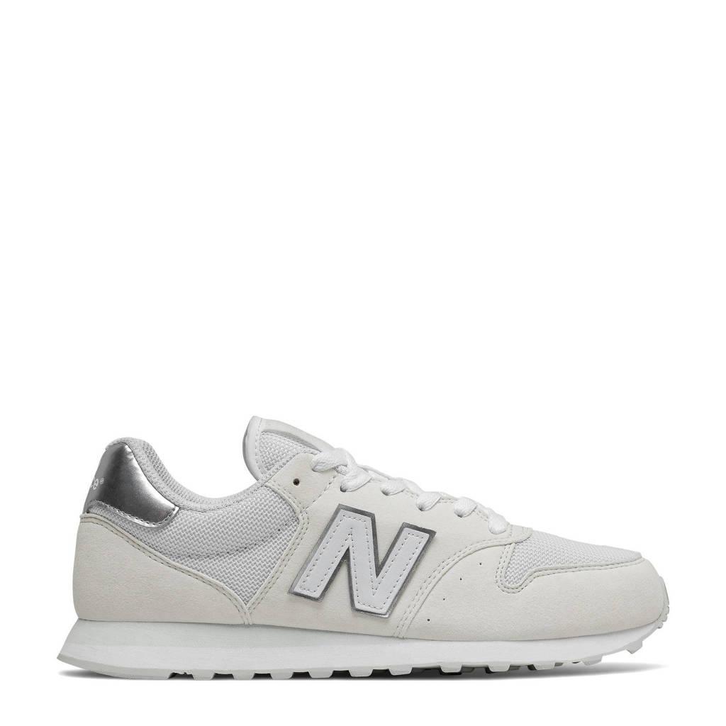 New Balance 500  sneakers wit/zilver, Wit/zilver