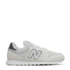 500  sneakers wit/zilver