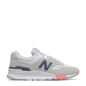 997  sneakers lichtgrijs/donkerblauw/roze