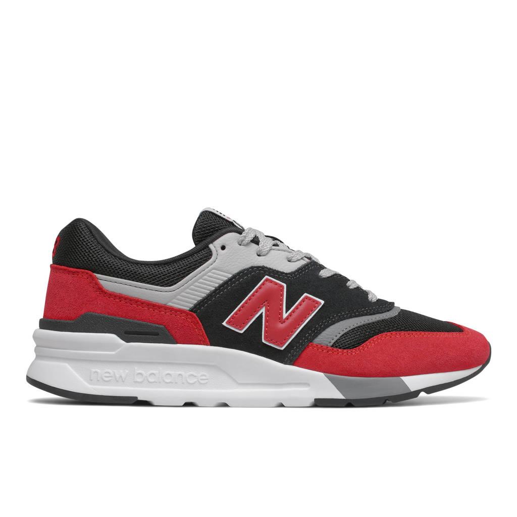 New Balance 997  sneakers rood/zwart/grijs, Rood/zwart/grijs