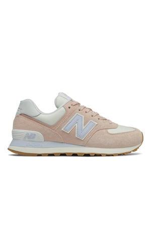sneakers roze/wit