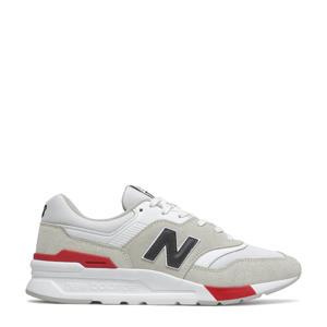 997  sneakers wit/rood/beige