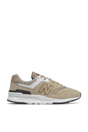 997  sneakers zand/zwart