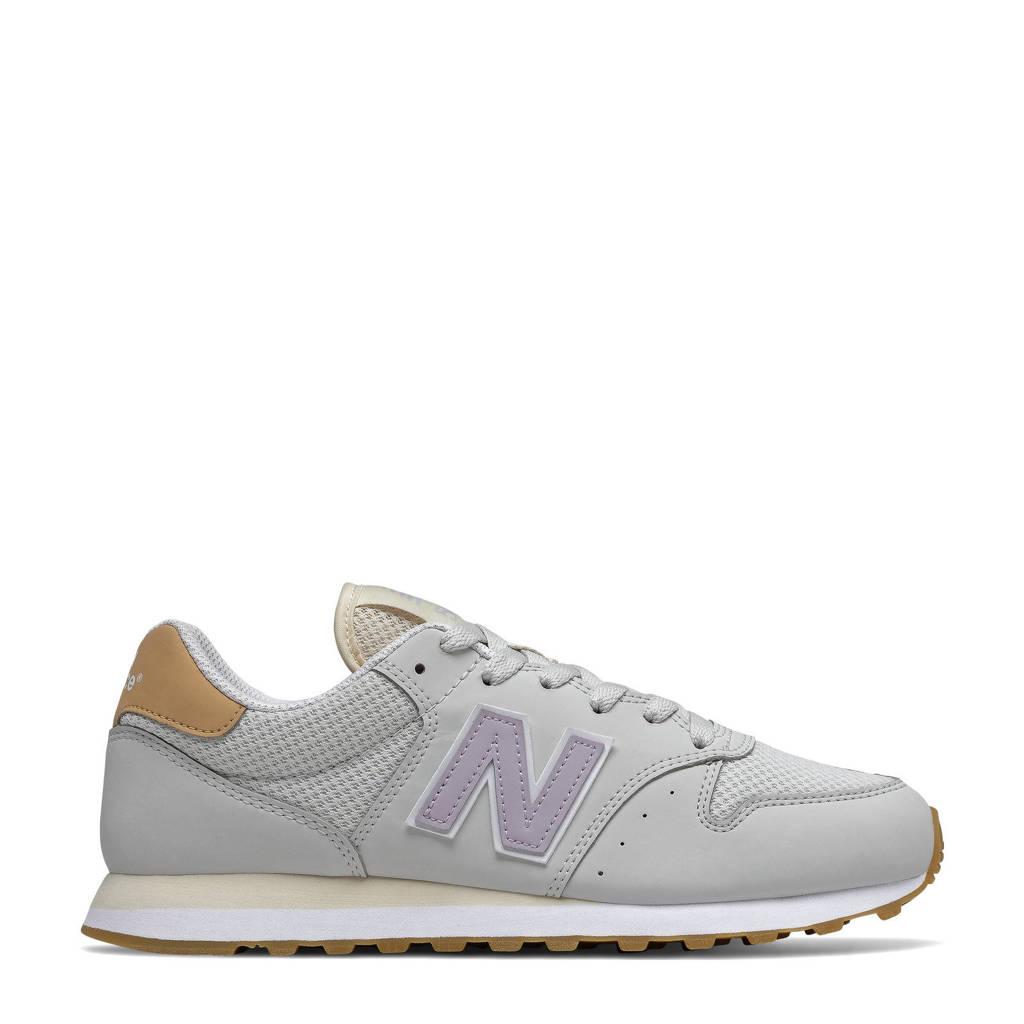New Balance 500  sneakers lichtgrijs/lila