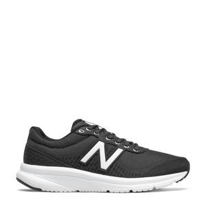 411  hardloopschoenen zwart/wit