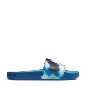 200  badslippers kobaltblauw/wit