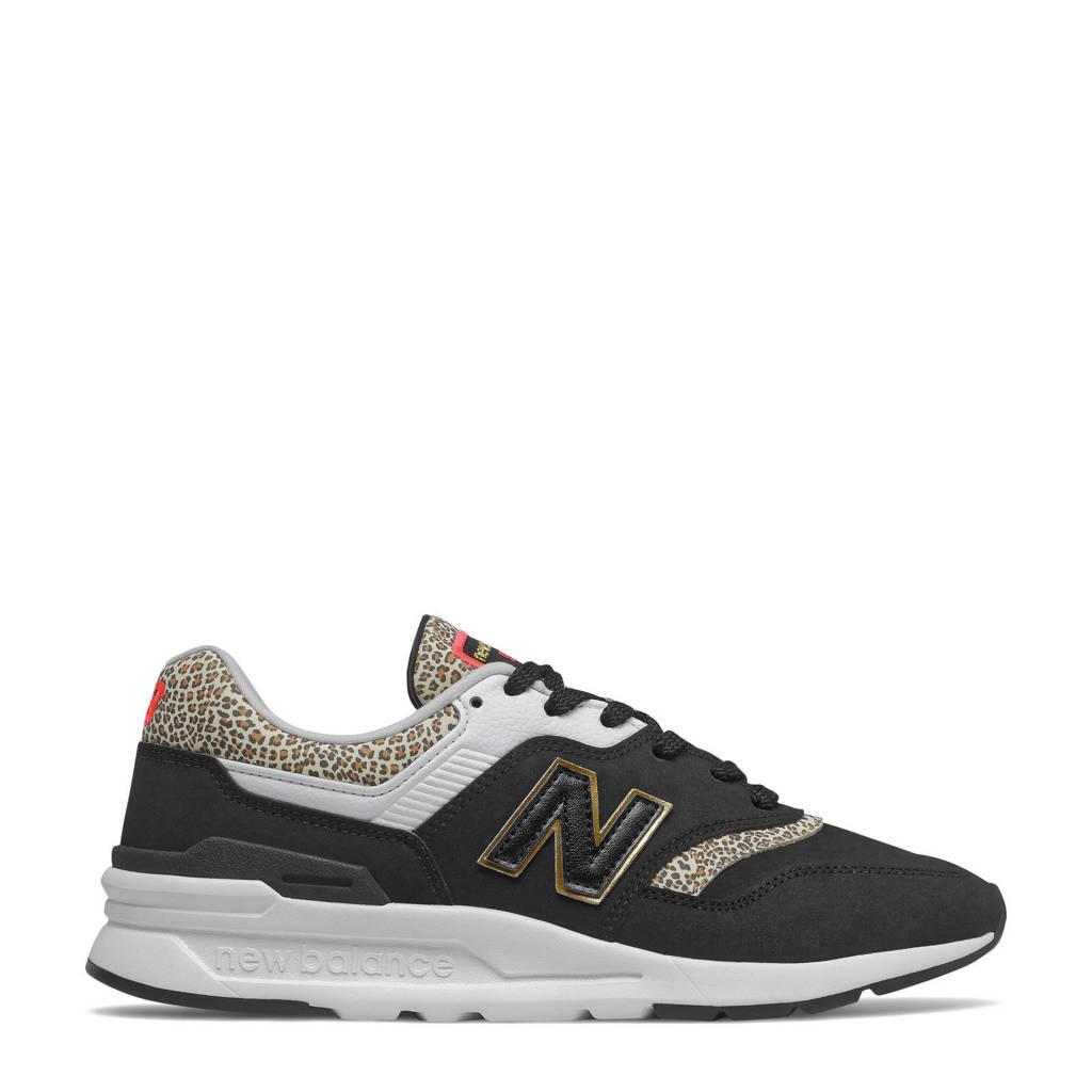 New Balance 997  sneakers zwart/wit/ecru, Zwart/wit/ecru