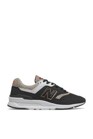 997  sneakers zwart/wit/ecru