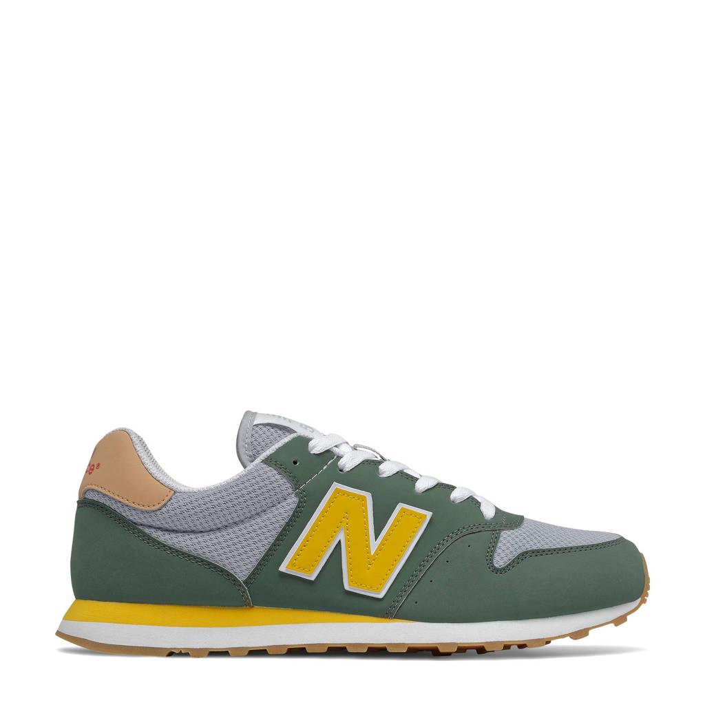 New Balance 500  sneakers kaki/grijs/geel