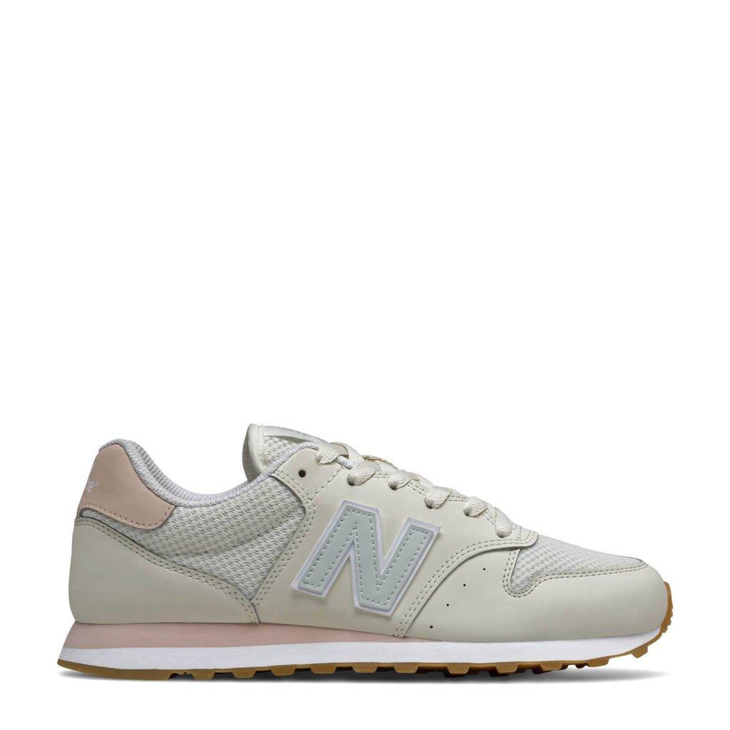 New Balance 500  sneakers ecru/mintgroen, Ecru/mintgroen