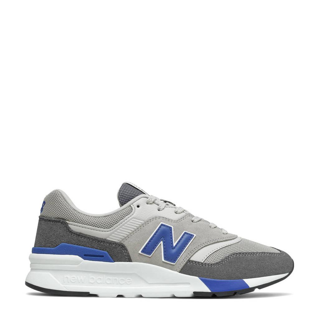 New Balance 997  sneakers grijs/zwart/kobaltblauw, Grijs/zwart/kobaltblauw
