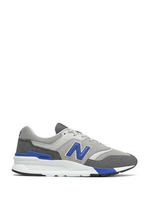 997  sneakers grijs/zwart/kobaltblauw