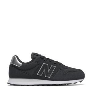500  sneakers zwart/antraciet/zilver