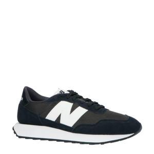 237  sneakers zwart/wit