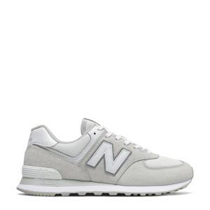 574  sneakers lichtgrijs/wit