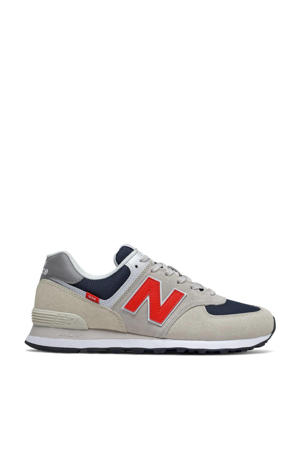 574  sneakers grijs/blauw/rood