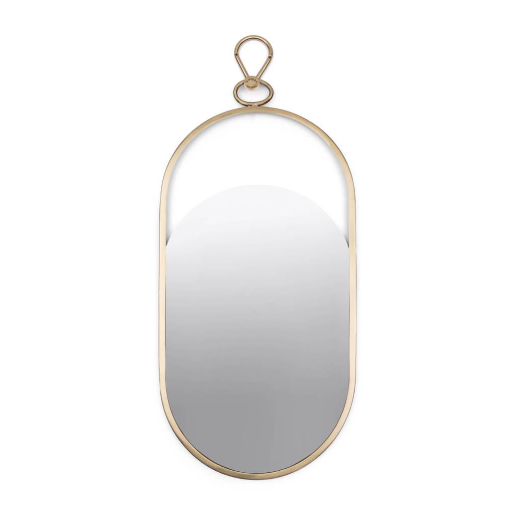 Riviera Maison spiegel   (84x42 cm), Goud