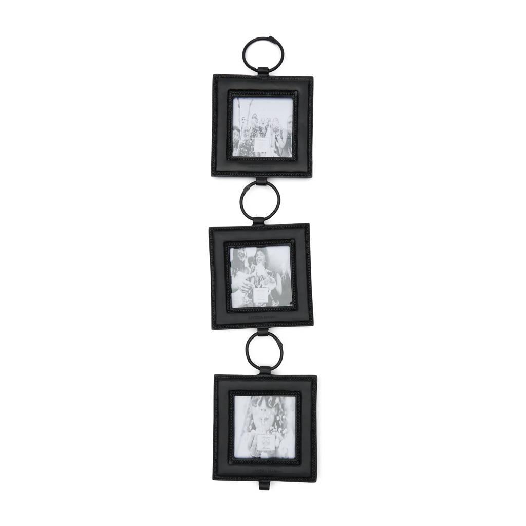 Riviera Maison fotolijst Cordoba (set van 3)  (15,5x68 cm), Zwart