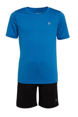 sportset Cham blauw/zwart
