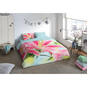 polyester dekbedovertrek lits-jumeaux