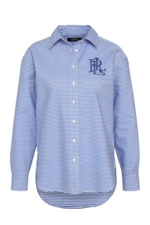 gestreepte blouse Kotta blauw/wit