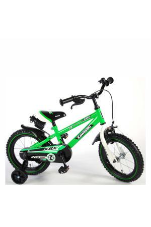 Kawasaki 14 inch 95% kinderfiets Kawasaki 14 inch 95%