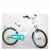 Volare Dolce kinderfiets 20 inch N3, Wit / Blauw